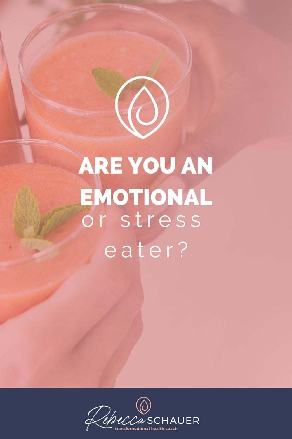 When we eat emotionally, we have trained our brain to ask for food when certain emotions arise. Emotional eating can quickly sabotage our weight, our health, and our self-esteem. Although people may teach ways to lessen emotional eating, like removing temptations from the house, logging all your food, etc., these are what I call outside controls to try to gain control. They are more like a bandaid for the habit, instead of actually breaking the habit. Rebecca Schauer, RDN Find Freedom with Food.